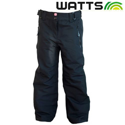 Pantaloni impermeabili de zapada Watts Last Ski pentru fete si baieti