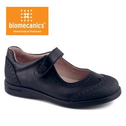Pantofi anatomici din piele pentru scolarite Biomecanics 131120B