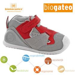 Pantofi bebe baieti 142134C Biomecanics din piele naturala la Big Step