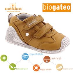 Pantofi bebelusi baieti 151157C Biomecanics din piele naturala pentru toamna