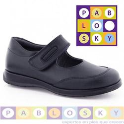 Pantofi bleumarin de scoala Pablosky pentru fete