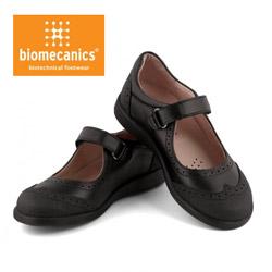Pantofi de scoala din piele pentru fete 131120A Biomecanics