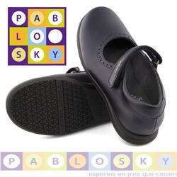 Pantofi din piele Pablosky pentru fetite de scoala