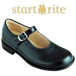 Pantofi fetite de scoala LOUISA BLACK Start-rite
