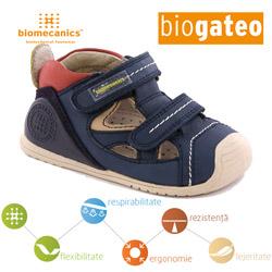 Pantofi piele naturala bebelusi Biogateo 152144A