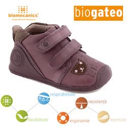 Pantofi piele naturala bebelusi fetite 151147C