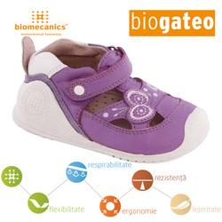 Pantofi vara Biogateo bebe fetite 152132B