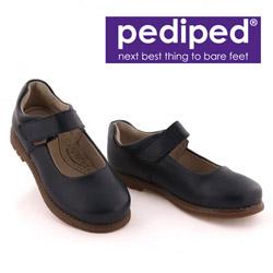 Pantofiori de scoala din piele pentru fetite