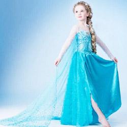 Rochii de carnaval pentru fetite Halloween Disney Frozen Costume ieftine
