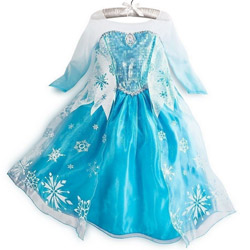 Rochii si costume tematice pentru fete si fetite Disney Frozen
