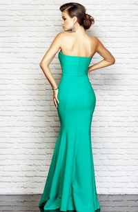 Rochie Charm Sex Appeal de culoare verde