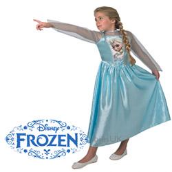 Rochita de bal mascat Printesa Anna Disney Frozen spectaculoasa