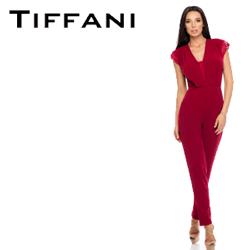 Salopeta pentru femei Tiffani culoare Bordeaux