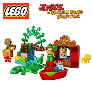Set constructie LEGO Duplo Vizita lui Peter Pan