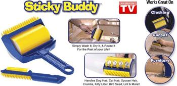 Sticky Buddy Rola de curatat universala pentru casa