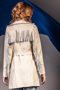 Trenciuri Barbara elegante stil piele de caprioara Colectia Zonia
