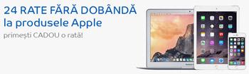 iPhone Apple iPod iPad si iMac si MacBook in rate la eMAG fara dobanda