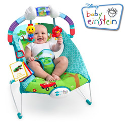 Balansoar cu vibratii Bebe Caterpillar Baby Einstein