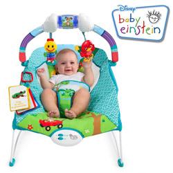 Balansoar cu vibratii pentru bebelusi Baby Einstein Model Caterpillar