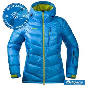 Bergans Geaca ski si zapada cu Puf Memurutind Lady albastra