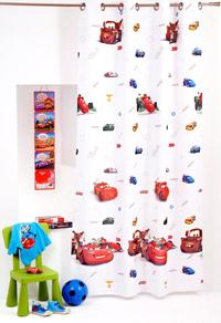 Draperii de camera pentru baieti Disney Cars