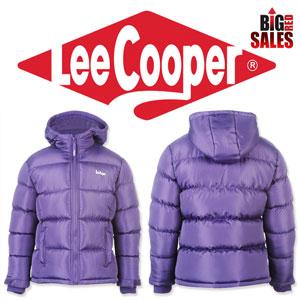 Geci de iarna Lee Cooper 2 Zip Bubble pentru fetite fete si femei