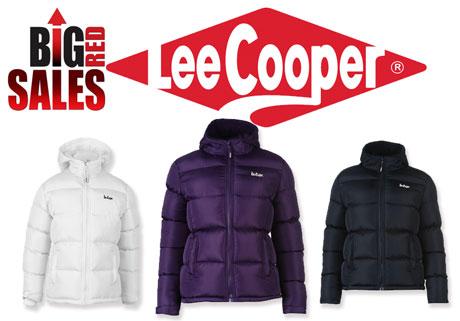 Geci de iarna pentru femei Lee Cooper 2 Zip Bubble Jacket