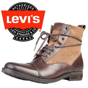 Ghete din piele pentru barbati marca LEVIS 222527 818 maro