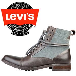 Ghete din piele pentru barbati marca LEVI`S 222527