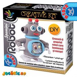 Jucarii D-Toys - Robotii Spumini