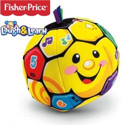 Mingea de fotbal cantareata Fisher Price Laugh and Learn