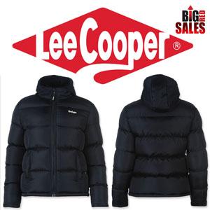 Lee Cooper 2 Zip Bubble Geaca calduroasa de iarna