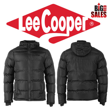 Lee Cooper Two Zip Bubble Mens Jacket Geaca de iarna barbateasca
