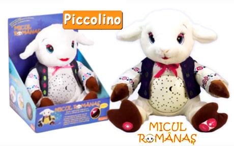 Jucarii care spun rugaciuni Micul Romanas Piccolino Reclama TV