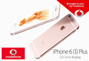 Pret iPhone6s si iphone6s plus la Vodafone cu si fara abonament