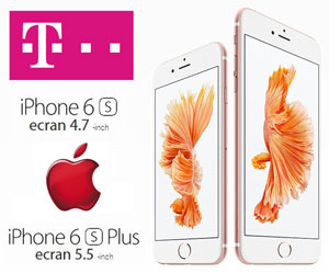 Pretul Telefoanelor iPhone6S si iPhone6S Plus cu si fara abonament la Telekom Cosmote