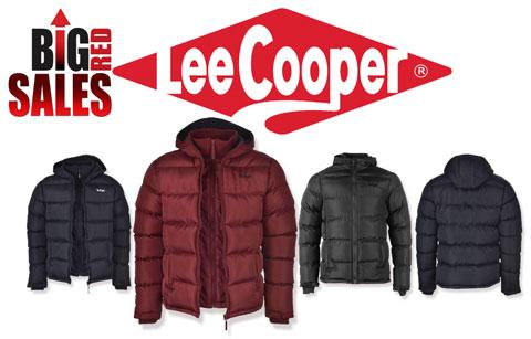 Reduceri de Preturi Geci de iarna pentru barbati LEE COOPER Two Zip Bubble Mens