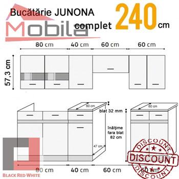 Schita Mobila Bucatarie Junona Line Polonia