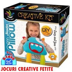 Set creatie perna monstrulet Monster Pillow Creative Kit
