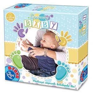Spumini Baby Spuma modelatoare pentru talpile si manutele bebelusului