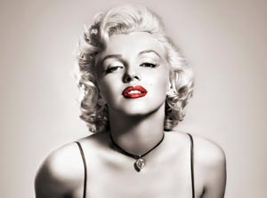 Tapet Retro Marilyn Monroe