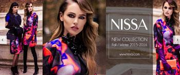Colectia de imbracaminte pentru femei NISSA Fall Winter 2015 2016