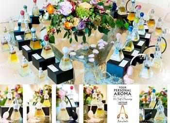 Colectia de parfumuri organice Your Personal Aroma by Raluca Vasile