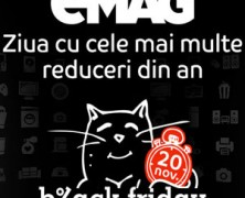 Cand va cadea Black Friday 2016 in Romania la eMAG.ro?