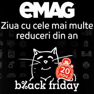Cand va cadea Black Friday 2016 in Romania la eMAG.ro?