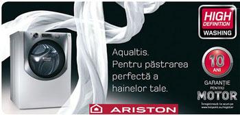Informatii despre Masinile de spalat rufe Ariston Hotpoint Aqualtis