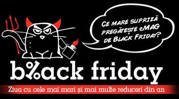 Informatii vanzari si Reduceri Black Friday 2015 la eMAG