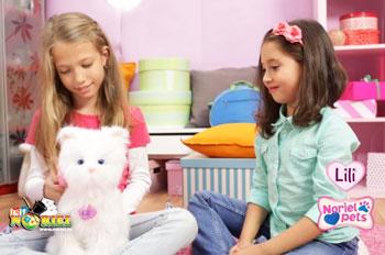 Jucarii Noriel Pets pentru fetite Pisicuta Lili
