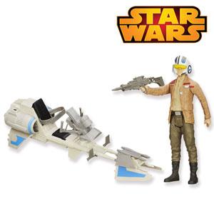 Figurina si vehicul Star Wars