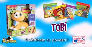 Jucarii copii 2 ani Catelusul Tobi de la Noriel Pets